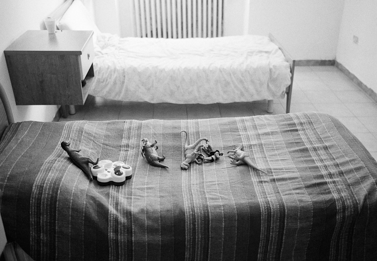 Hulk's Toys - Franco's bed in his room, in the open facility whe